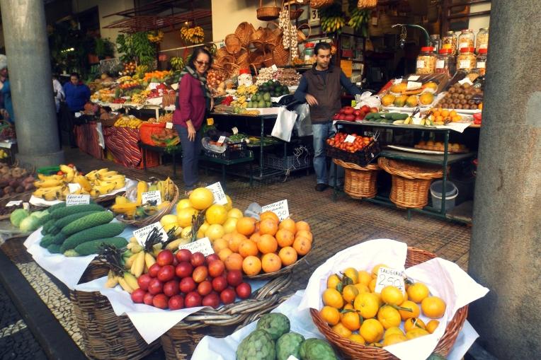 mercado dos lavradores, funchal. dia três