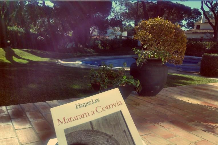 Vilamoura, sol e livros novos é amor.